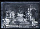 Interior of Old St. Raphael Church, Springfield, Minnesota