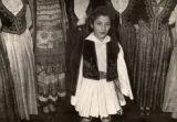 Girl in Greek ethnic costume