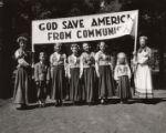 God save America from communism