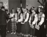 Latvian school graduates