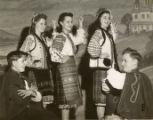 Members of Ukrainian Twin Cities, Minnesota, Folk Ballet in folk costumes