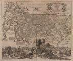 17th Century, Holy Land; Perigrinatie oste Veertich Iarige Reyse der Kinderen Israels.