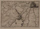 18th Century, Bangladesh, Ganges River, and East India; t Koninkryk van Bengale En Landschappen Aande Ganges Vloed, tussen Mogol En Pegu Gelegen.