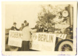 Farewell Celebration for Robbinsdale's World War I contingent, Robbinsdale, Minnesota