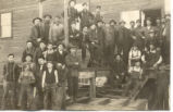 Sawmill and crew of workers, Thief River Falls, Minnesota