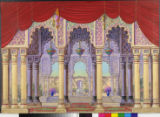 Image for Palace archway to fountain.