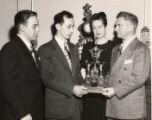 Image for Presentation of trophy