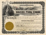 Image for Stock certificate