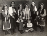 Image for Group of dancers in folk costumes