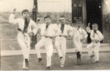 Image for Group of boys in costumes dancing