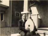 Image for Andrii Kist with the musical instrument bandura