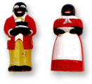 Image for Jemima and Mose Salt and Pepper Shakers