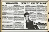 Image for Les Blancs insert from The New York Times, December 6, 1970.