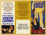 Image for Seven Guitars Brochure, Walter Kerr Theatre, New York.