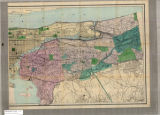 Image for Map of the city & county of New York