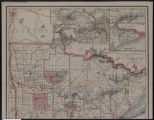Image for Railroad commissioners' map of Minnesota : corrected to May 1, 1914