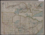 Image for Railroad commissioners' map of Minnesota, 1916