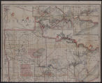 Image for Railroad commissioners' map of Minnesota : corrected to Feb. 1, 1911