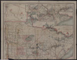 Image for Railroad commissioners' map of Minnesota : corrected to May 1, 1910