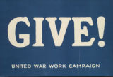 Image for Give! : United War Work Campaign
