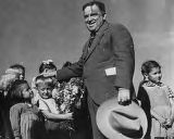 Image for Director Fiorello LaGuardia with Children