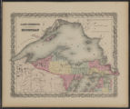 Image for Lake Superior and the northern part of Michigan
