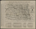 Image for Map of trunk highway system State of North Dakota