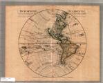Image for Hemisphere occidental : dresse en 1720, pour l'usage du roy, sur les observations astronomiques et geographiques ... et dans les memoires de l'Academie Rl. des Sciences