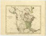 Image for A new map of North America agreeable to the latest discoveries