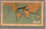 Image for Map of ocean traffic (1901)