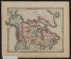 Image for Northern America : British, Russian & Danish possessions in North America