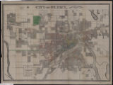 Image for City of St. Paul : annual report, 1886, City Engineers Office.
