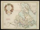 Image for Carte du Canada qui comprend la partie septentrionale des Etats Unis d'Amerique [cartographic material] : dressee sur plusieurs observations et sur un grand nombre de relations imprimees ou manuscrites
