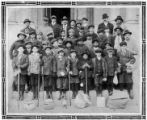 Image for Association boys from Washington D.C. off for a hike