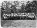 Image for Colored Work Dept. Student leaders, Kings Mountain Student Conference, 1913.