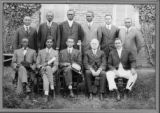 Image for Instructors at Gibbsland, Louisiana YMCA Conference, April 27 - May 2, 1921. Richard Morse, Channing Tobias to Morse's left.