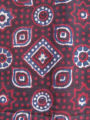Image for Dabu (mud resist) printed cotton dupatta with ajrak motif