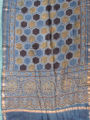Image for Bagru block printed shawl in the style of ajrak