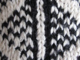 Image for Afghan knit stockings