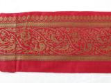 Image for Benares brocade sari border fragment
