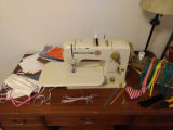 Image for Sewing machine and supplies for making cloth face masks