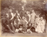 Image for A family group of Parsis, Bombay