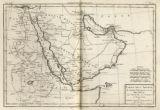 Image for Carte de L'Arabie, du Golfe Persique, et de la er Rouge, avec L'Egypte, La Nubie et L'Abissinie