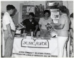 Image for Jewish Community Relations Council - Anti-Defamation League of Minnesota and the Dakotas booth at the Minnesota State Fair